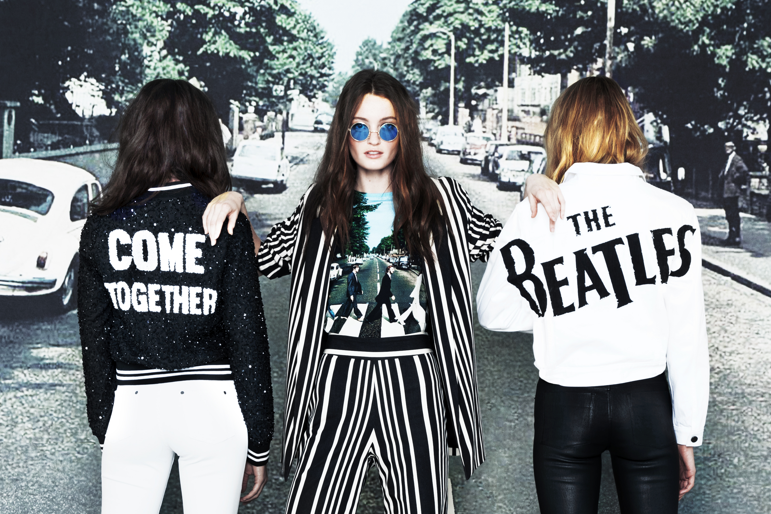 Alice + Olivia x The Beatles Collection