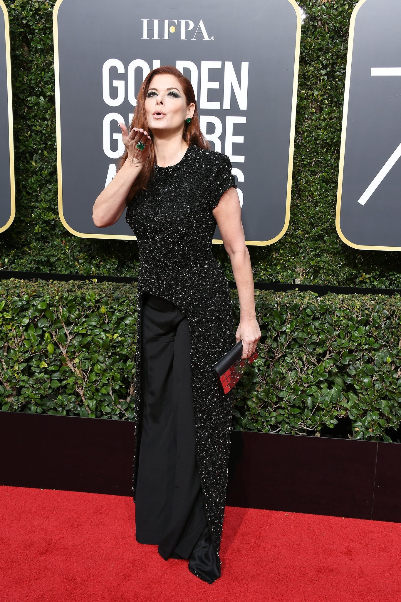 Golden Globes: Why are you wearing black?